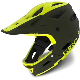 Giro Switchblade MIPS - Casco de bicicleta - amarillo/Oliva